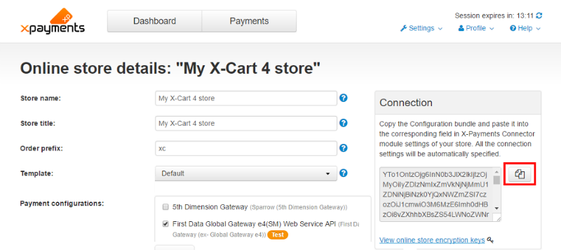 X-Cart:X-Payments Connector - X-Cart 4 Classic