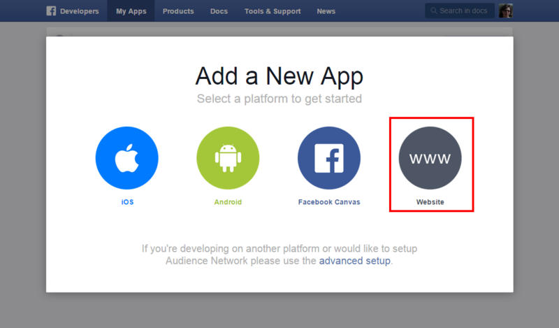 Facebook add new app website.png